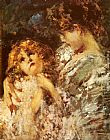 Vincenzo Irolli Mother And Child painting