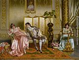 Vittorio Reggianini Seduction painting