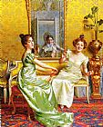 Vittorio Reggianini Surprise ! painting