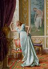 Vittorio Reggianini The Attraction painting