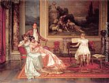 Vittorio Reggianini The Piano Recital painting