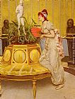 Vittorio Reggianini Waiting painting