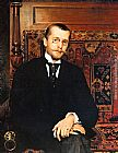 Vlaho Bukovac Portrait of Dr. Stjepan Miletic painting
