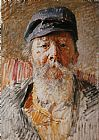 Vlaho Bukovac Portrait of the Artist's Father painting