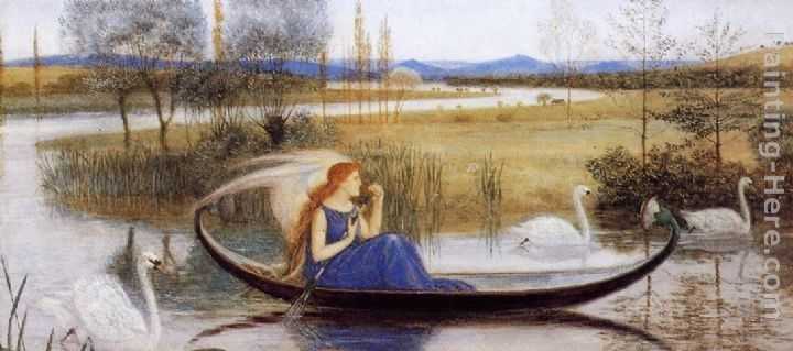 Walter Crane My Soul is an Enchanted Boat...