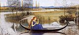 Walter Crane My Soul is an Enchanted Boat... painting