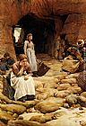 Walter Langley In The Fishing Season painting
