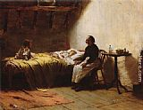 Walter Langley Motherless painting