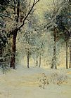 Walter Launt Palmer Sunshine After a Snowstorm painting