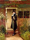 Walter-Dendy Sadler The Suitor painting