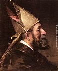 Wenceslas Vacslav Brozik A Bishop painting