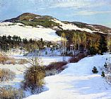 Willard Leroy Metcalf Cornish Hills painting