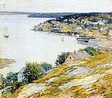 Willard Leroy Metcalf East Boothbay Harbor painting