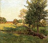 Willard Leroy Metcalf Lengthening Shadows painting