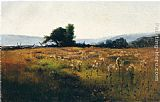 Willard Leroy Metcalf Mountain View from High Field painting