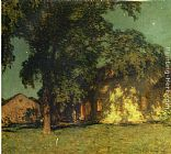 Willard Leroy Metcalf Summer Night (No. 2) painting