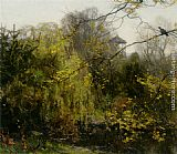 Willem Bastiaan Tholen A view of a park painting