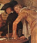 Willem Buytewech Merry Company (detail) painting