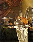 Willem Kalf Still Life with Chafing Dish painting