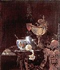 Willem Kalf Still Life with Nautilus Cup painting