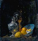 Willem Kalf Still Life with Silver Jug painting