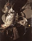 Willem van Aelst Still-Life of Dead Birds and Hunting Weapons painting