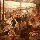 William Bell Scott Iron and Coal painting