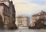 William Callow View Of The Ca Foscari on Grand Isle painting