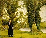 William Dyce Amongst the Trees painting