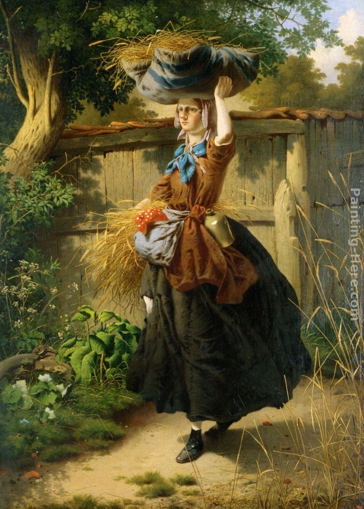 William Edward Millner Returning from the fields