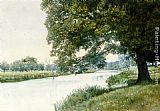 William Fraser Garden The River Ouse, Bedfordshire painting
