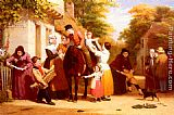 William Frederick Witherington The Village Post Office painting