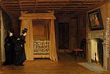 William Frederick Yeames A Visit To The Haunted Chamber painting