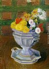 William Glackens Flowers in an Ironstone Urn painting