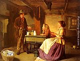 William Henry Midwood The Potter painting