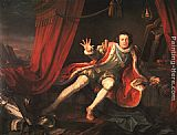 William Hogarth David Garrick as Richard III painting