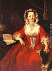 William Hogarth Miss Mary Edwards painting