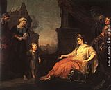 William Hogarth Moses Brought Before Pharaoh's Daughter painting
