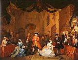 William Hogarth The Beggar's Opera 5 painting