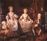 William Hogarth The Graham Children painting