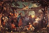 William Hogarth The Pool of Bethesda painting