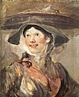 William Hogarth The Shrimp Girl painting
