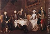 William Hogarth The Strode Family painting