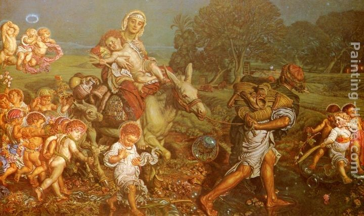 William Holman Hunt The Triumph of the Innocents