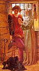 William Holman Hunt Claudio and Isabella painting