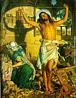 William Holman Hunt Shadow of Death painting