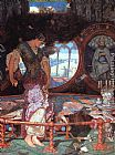 William Holman Hunt The Lady of Shalott painting