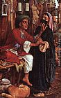 William Holman Hunt The Lantern Maker's Courtship painting