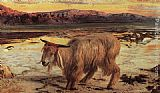 William Holman Hunt The Scapegoat painting
