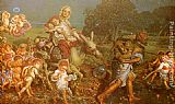 William Holman Hunt The Triumph of the Innocents painting
